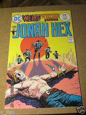 Weird Western Tales # 28 presents Jonah Hex Michael J. Fleischer June 1975 DC