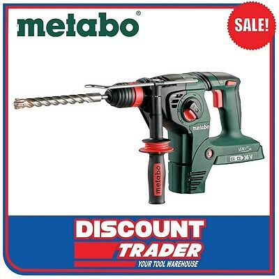 Metabo 36V (2x18V) Lithium-Ion SDS+ Hammer Drill KHA 36-18 LTX 32 - 600796840