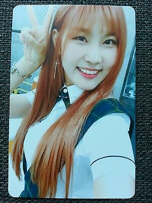PRISTIN YEHANA Official PHOTOCARD #1 2nd Mini Album SCHXXL OUT 예하나