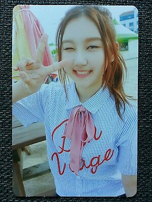 PRISTIN SUNGYEON Official PHOTOCARD #2 2nd Mini Album SCHXXL OUT 성연