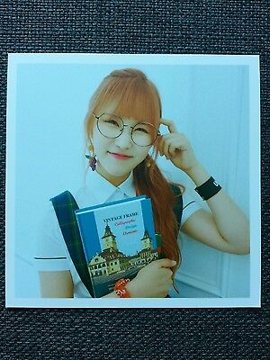 PRISTIN YEHANA Official Postcard PHOTOCARD #3 2nd Mini Album SCHXXL OUT 예하나