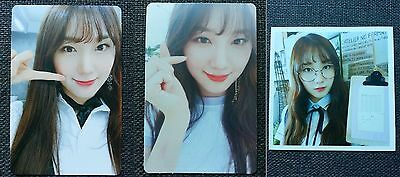 LOT of 3 PRISTIN ROA Official Postcard PHOTOCARD 2nd Mini Album SCHXXL OUT 로아