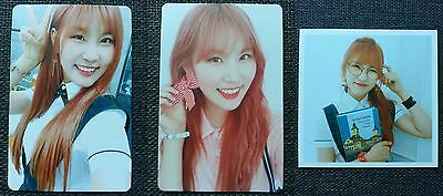 LOT of 3 PRISTIN YEHANA Official Postcard PHOTOCARD 2nd Mini Album SCHXXL OUT 하나