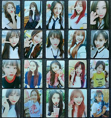 LOT of 20 PRISTIN Official PHOTOCARD #1 #2 2nd Mini Album SCHXXL OUT Full Set