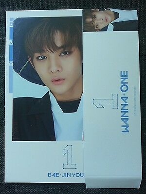 WANNA ONE BAE JIN YOUNG SKY Ver Official Sleeve + Cover Card 1st Album TO BE ONE