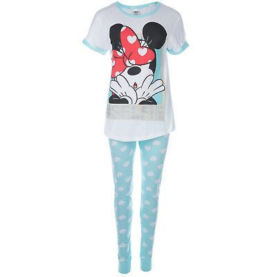 Womens Disney Minnie Pyjamas In Blue From Get The Label