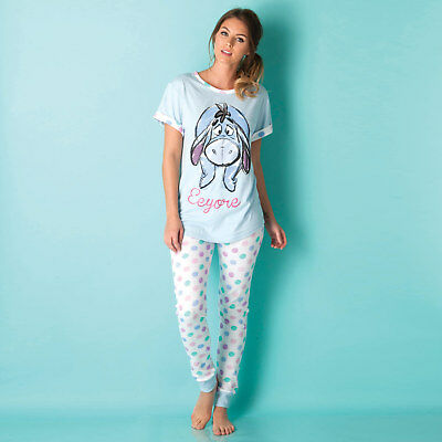 Womens Disney Eeyore Pyjamas In Blue From Get The Label