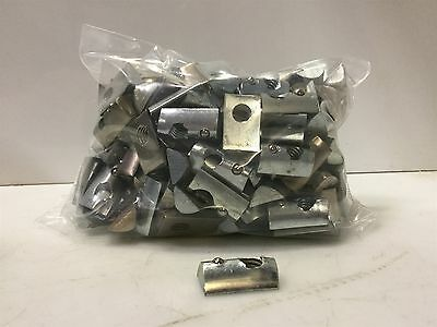 Lot of 175- 8020 or Equivalent 3917 Roll-In T-Nut w/ Ball Spring Steel 5/16-18