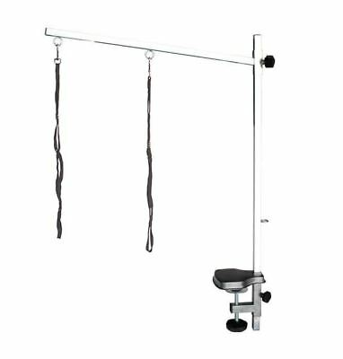 Grooming Table Arm H Bar Frame with Noose by Pedigroom Dog Pet Adjustable