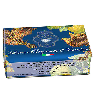 Acque di Italia For Men Tabak & Bergamotte di Taormina Seife 200 g