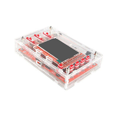 "Transparent Acrylic Case Shell Box for DSO138 2.4"" Digital Oscilloscope TE640"