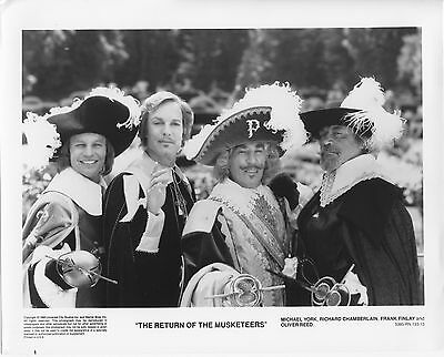 THE RETURN OF THE MUSKETEERS original 1988 lobby photo OLIVER REED/MICHAEL YORK