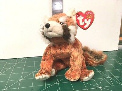 Ty Beanie babies 2002 RUSTY TAG ERROR MINT W/ MINT TAGS RETIRED MY COLLECTION