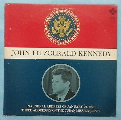 John F. Kennedy ~ The Presidents Of The United States ~ 1968 Us Lp Record