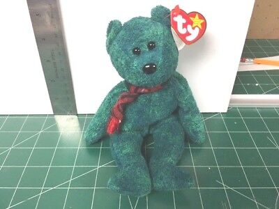 Ty Beanie babies WALLACE  TAG ERROR MINT W/ MINT TAGS RETIRED MY COLLECTION