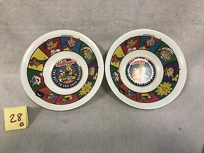 Vintage Kelloggs 1996 The Best to You Each Morning Lot Of 2 Bowls