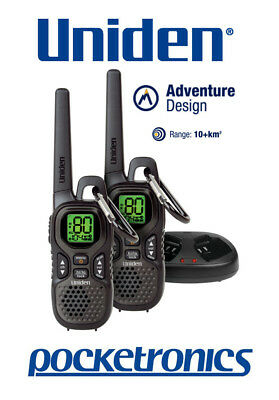 Uniden UH515-2 TWIN Pack Tough 1.5 Watt 10+km Handheld CB UHF Walkie Talkie NEW