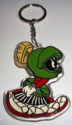 Looney Tunes MARVIN the MARTIAN Running Warner Brothers Bros Key Chain New!