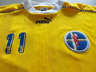 Sweden - Official Puma Hockey / Floorboard Jersey #11-Xl -See Desc For Sizing