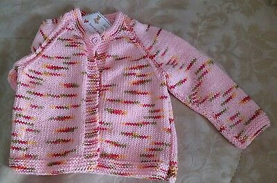 Toddler Cardigan - Size 1 - Pure Wool, Cashmere, Silk