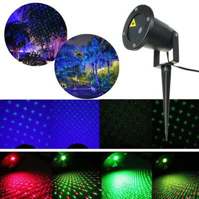 Outdoor Landscape Garden LED RG Firefly Laser Projector Stage Holidays Light