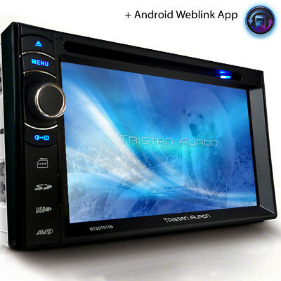 Autoradio mit Bildschirm Navi BLUETOOTH TOUCHSCREEN DVD CD MP3 USB 2 Doppel Din
