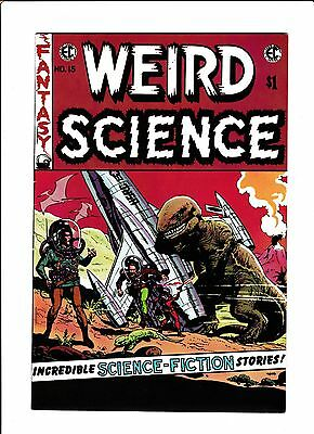 E.c. Classic Reprint  [1973 Fn]  Weird Science #15  Dinosaur Cover!