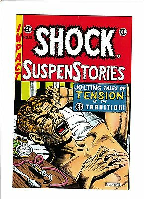E.c. Classic Reprint  [1973 Vg-Fn]  Classic Drug Cover!  Shock Suspenstories #12
