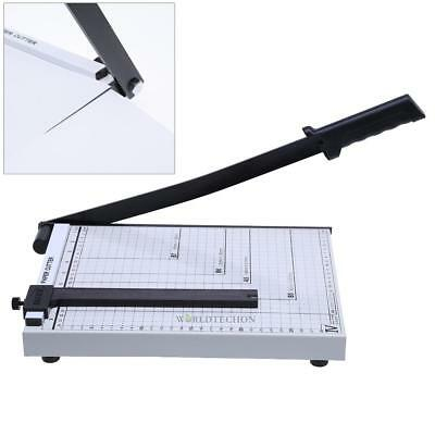 Heavy Duty Professional A4 Paper Guillotine Cutter Trimmer Slicer Home Office