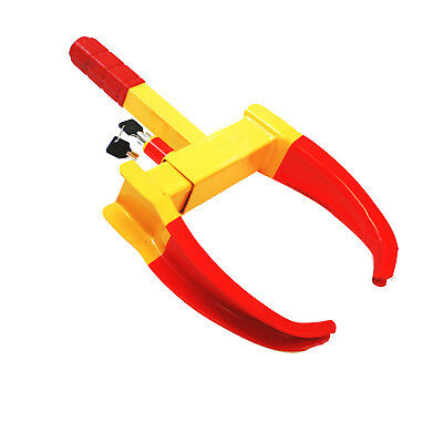 Wheel Lock Clamp Boot Tire Claw Auto Truck RV Boat Trailer Anti-Theft Towing S