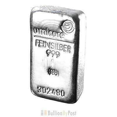 Umicore 500g Silver Bar