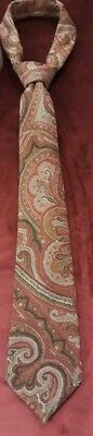 Antique Kashmir Shawl Design French Tie