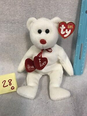 Ty Beanie Baby ~ TRULY the Bear ~ With Hang Tag RETIRED