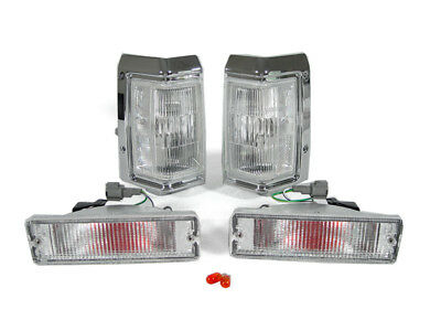 New Clear Corners+Bumper Lights For 87 88 89 90 91 92 93 94 95 Nissan Pathfinder