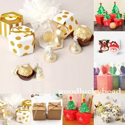 1 x Cute Pillow Pack Candy Jewellery Gift Pouch Box Xmas Birthday Party 7 Style
