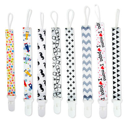 Lovely Cartoon Baby Kids Dummy Pacifier Clip Chain Holder Soother Nipple Strap