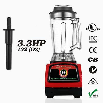 3.3HP 2800W Commercial Home Food Juicer High Speed Mixer Power Fruit Blender