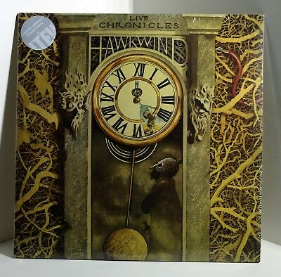 HAWKWIND Live Chronicles CLEAR VINYL 2xLP Sealed