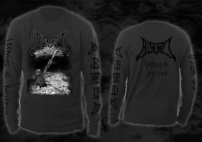 Blood - impulse to destroy (grey Longsleeve Shirt) Gr size S, M, L, XL, XXL, 3XL