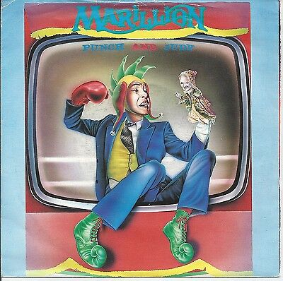 "Marillion - Punch And Judy 7"" Vinyl 1984"