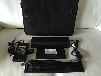 Dell Dockingstation E-Port Plus PR02X Latitude E6520 E6530 E6540 +Tasche +Netzt.