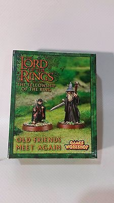 Lord of the Rings/The Hobbit Strategy Battle Game Old Friends Meet Again Limited
