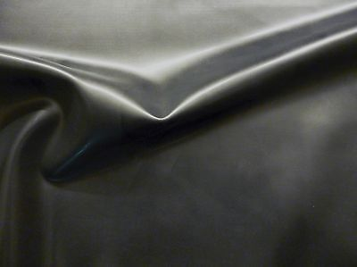 Latex Rubber Sheet, 1.05mm Thick,2m x 2.5m, 78 x 97 inches,Black, Slight Seconds