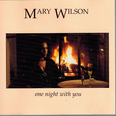 MARY WILSON - one night with you (CD sgl. 1991)