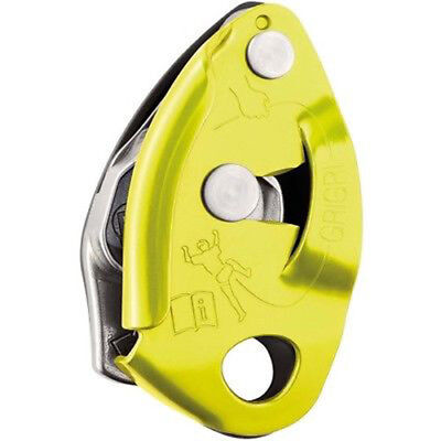 Petzl Grigri 2 Yellow Climbing Gear Belay Device with Assisted Braking