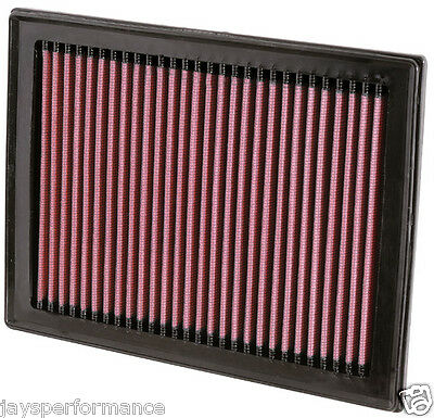 Kn Air Filter (33-2409) Replacement High Flow Filtration