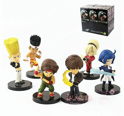 Set of 6 Pieces The King of Fighters Toy Figure Doll Vol.1 New in Box