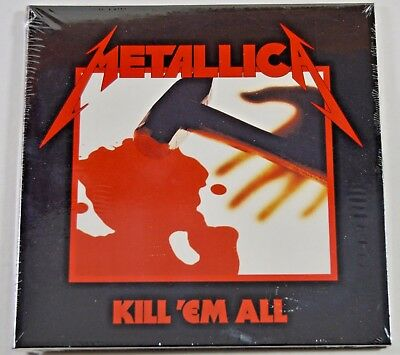 Metallica ~ Kill 'Em All (Remastered 2016) ~ NEW CD Album (Digipack)