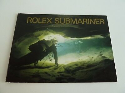 Rolex Submariner Booklet - deutsch von 6-1993
