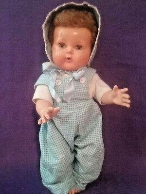 Vintage American Character Tiny Tears Doll 1950s Rubber Doll That SQUEAKS!!
